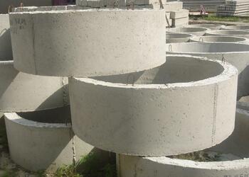 Быстрая доставка колец из бетона